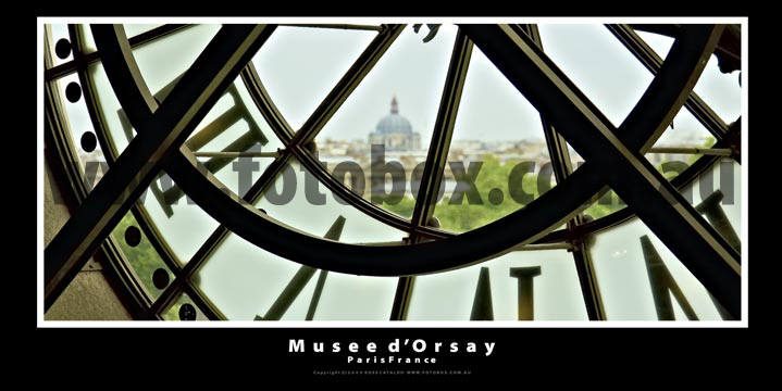 Musee d'Orsay Panoramic Landscape