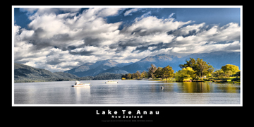 Lake Te Anau New Zealand